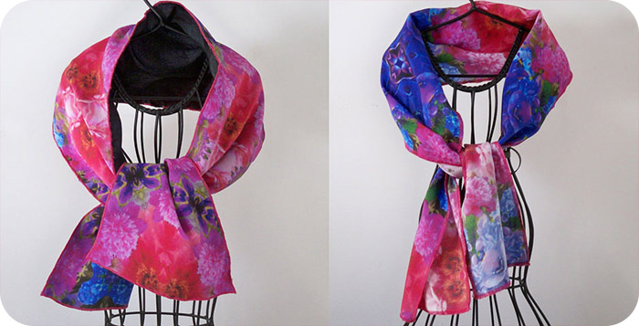 Edged Wrap Scarves