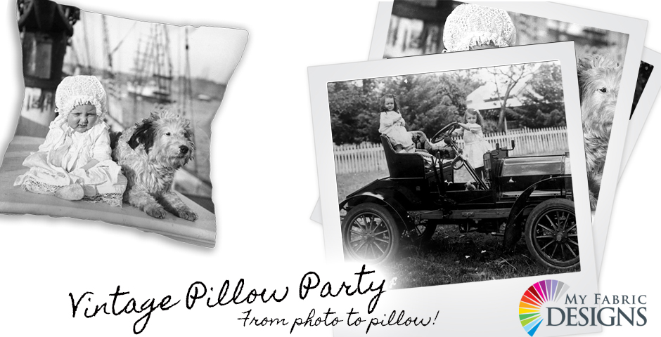 Vintage Pillow Party!