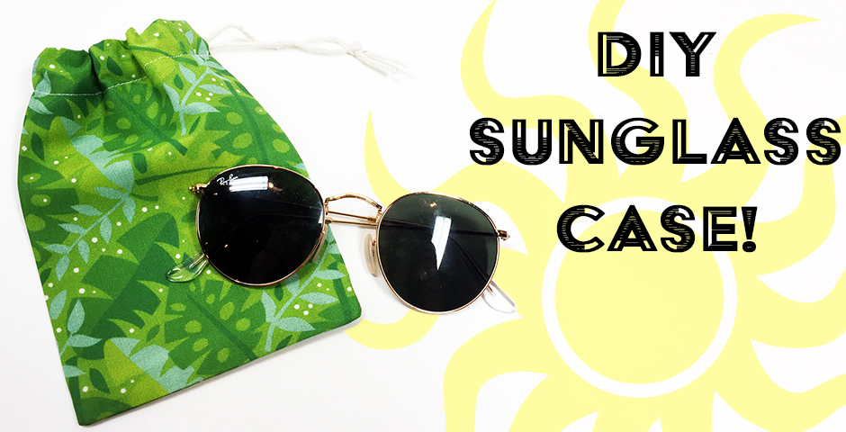 DIY Sunglass Case! 🕶