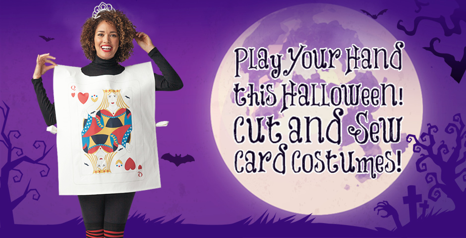 Cut and Sew Playing Card Costumes!