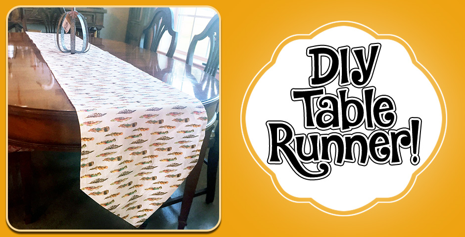 DIY Table Runner!