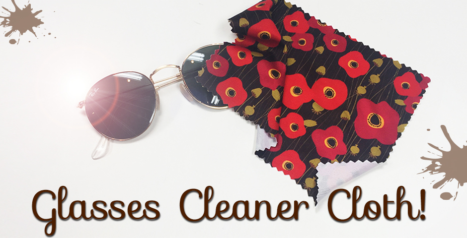 Eye Glass Cleaner Cloth!