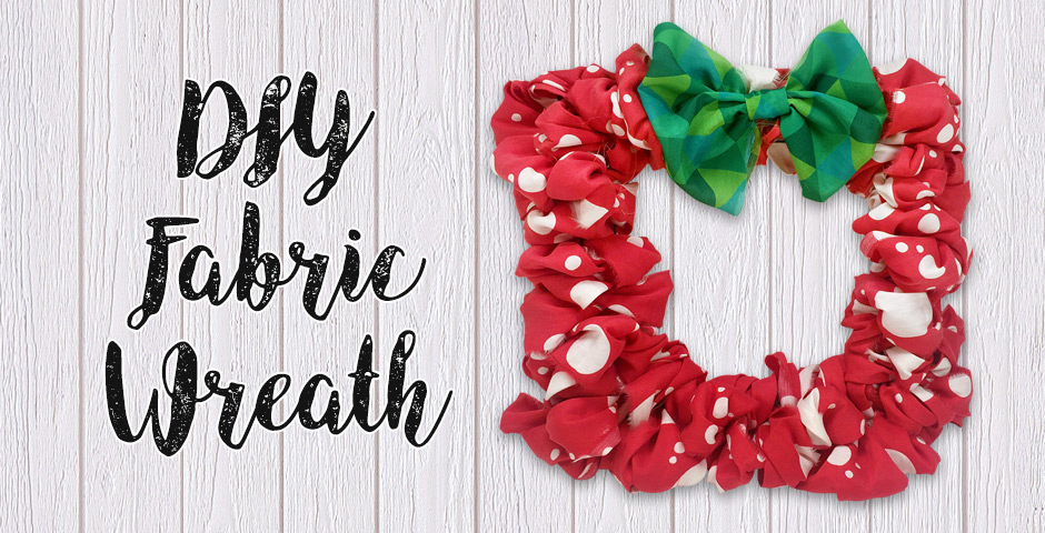 DIY Fabric Wreath