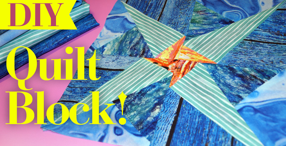 DIY Quilt Block! With FREE pattern!