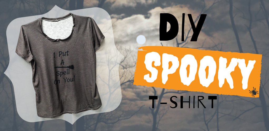 DIY Spooky T-Shirt!