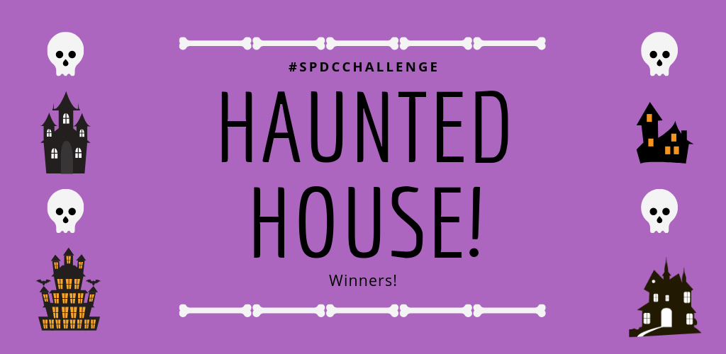Haunted House Surface Pattern Design Community Challenge Winners!!