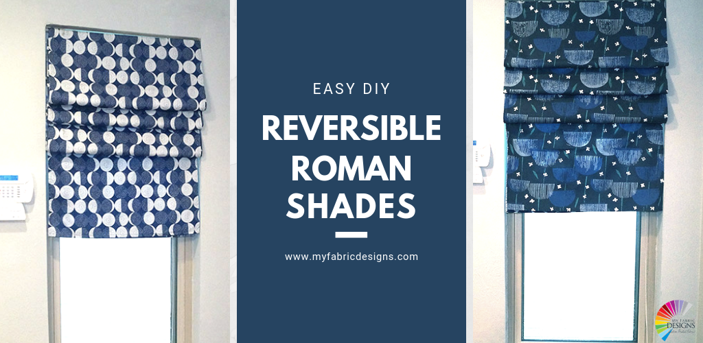 DIY Easy Roman Shade!