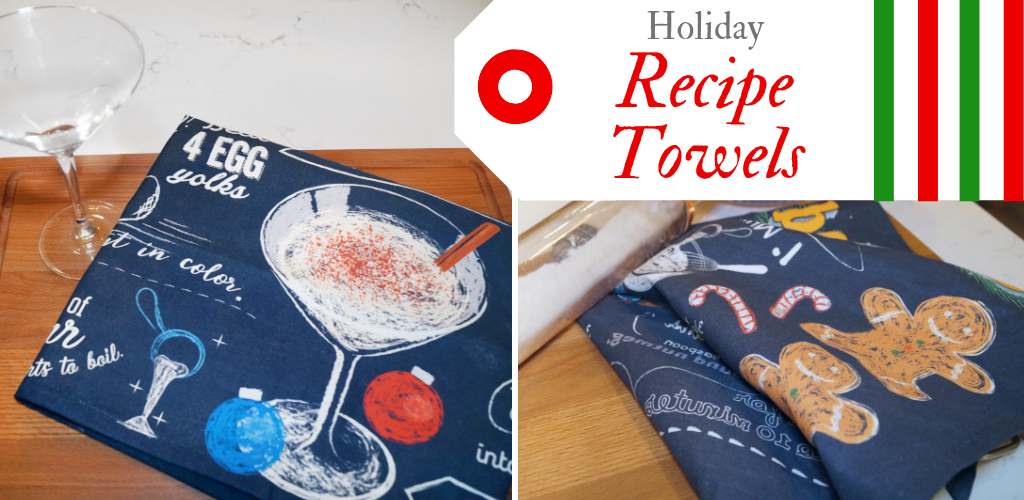 Holiday Recipe Towels!