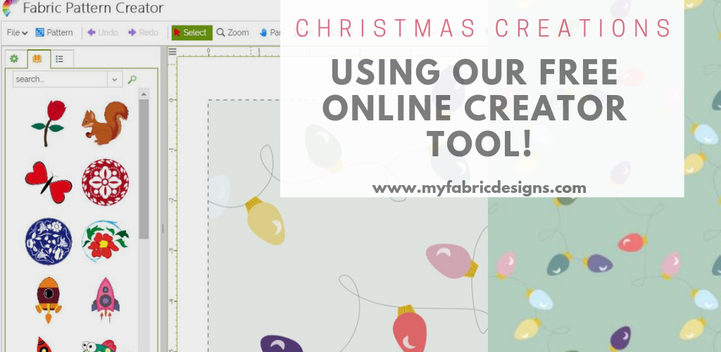 Christmas Creations Using Our Free Online Creator Tool!
